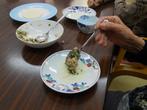 草川デイサービス:昼食作りの様子 (9月 9日)